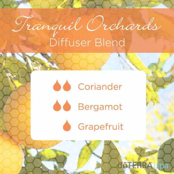 Tranquil Orchards doTERRA Diffuser Blend