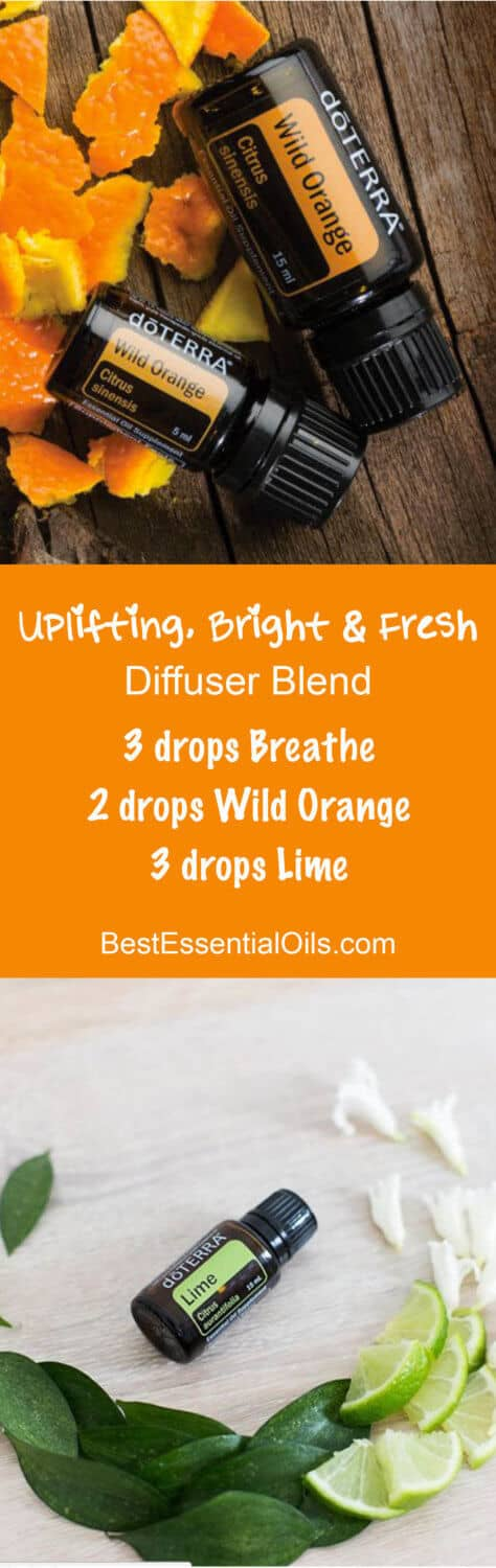 Uplifting, Bright & Fresh doTERRA Diffuser Blend