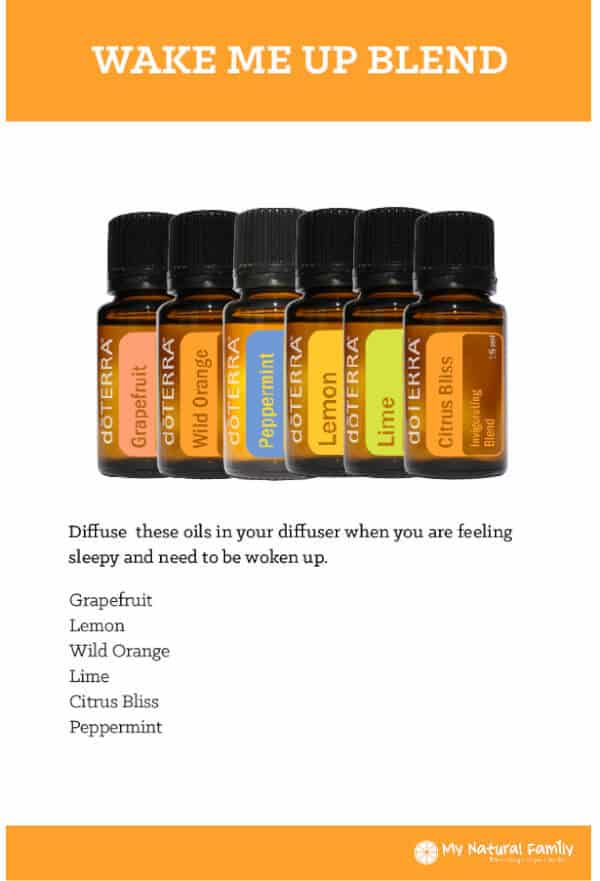 Wake Me Up doTERRA Diffuser Blend