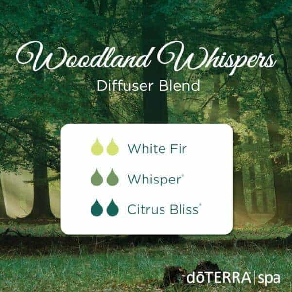 Woodland Whispers doTERRA Diffuser Blend