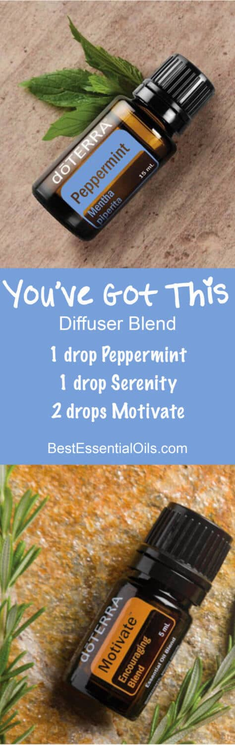You've Got This doTERRA Diffuser Blend Recipe