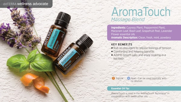 doTERRA AromaTouch Massage Blend Benefits