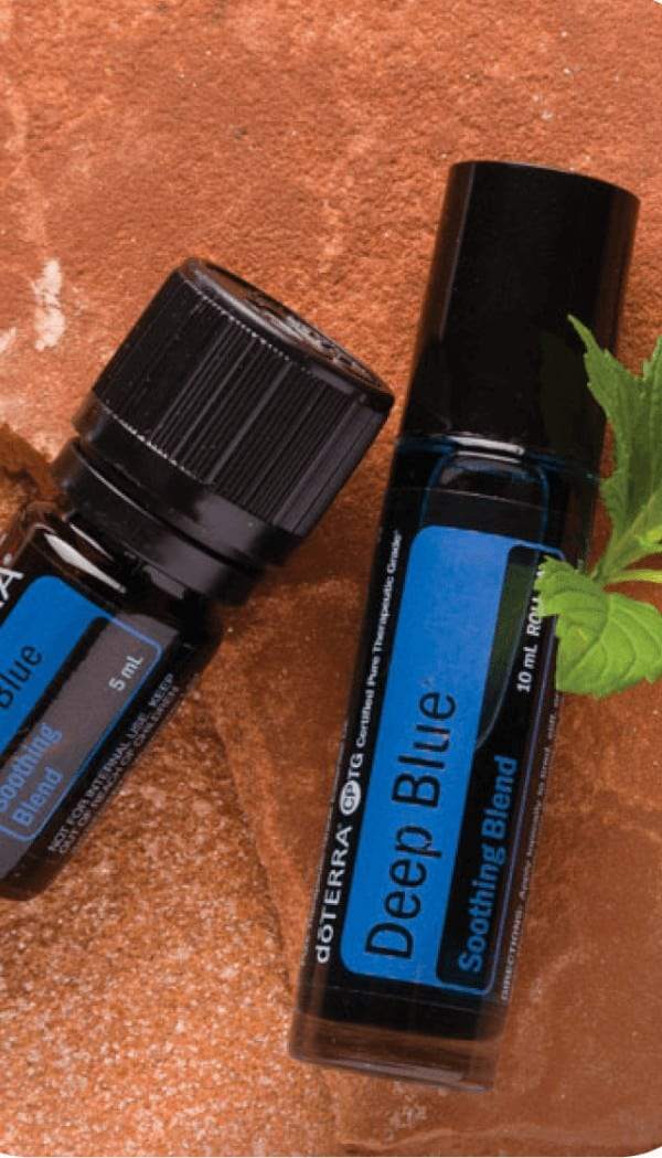 doTERRA Deep Blue Soothing Blend Uses