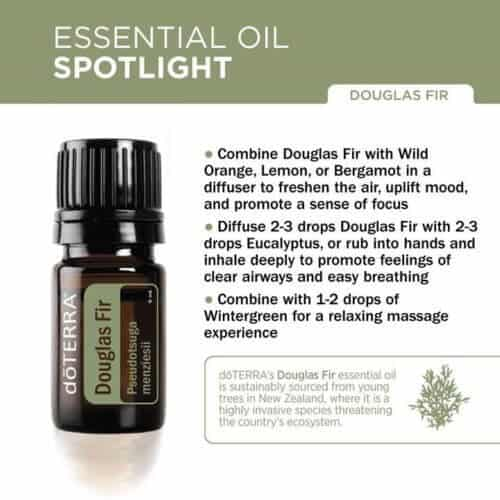 doTERRA Douglas Fir Essential Oil Uses