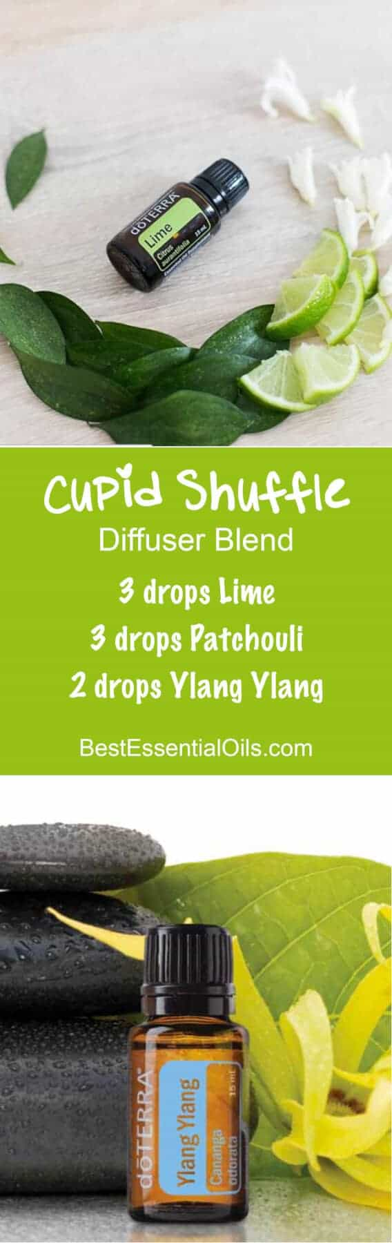 doTERRA Essential Oils Cupid Shuffle Diffuser Blend