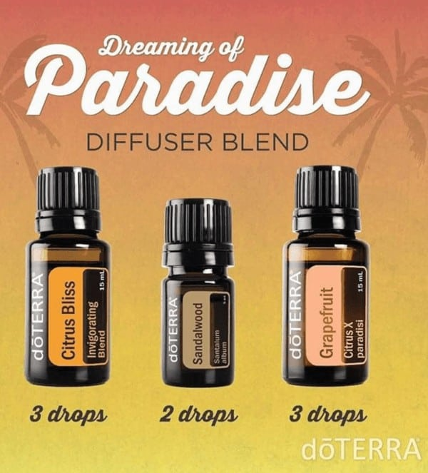 doTERRA Dreaming of Paradise Diffuser Blend