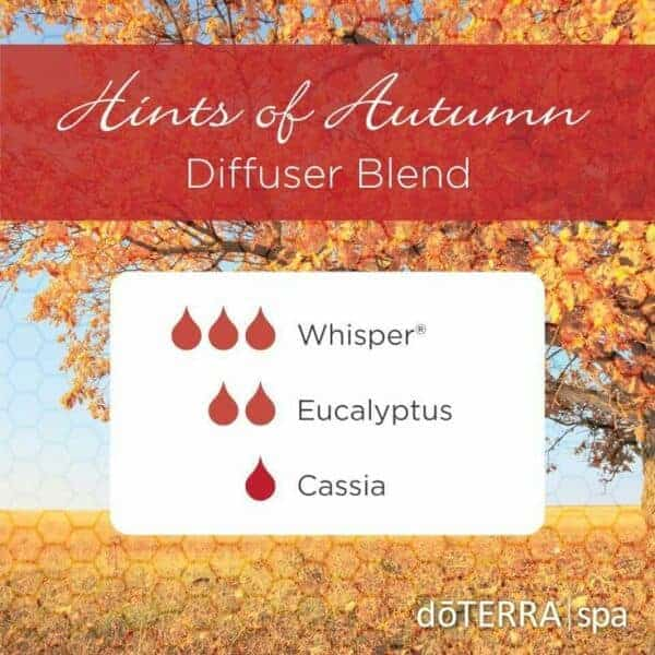 doTERRA Essential Oils Hints of Autumn Diffuser Blend