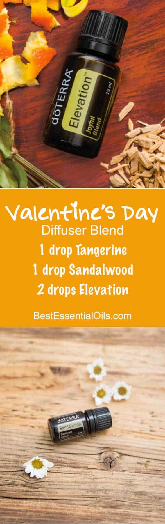doTERRA Essential Oils Valentine's Day Diffuser Blend