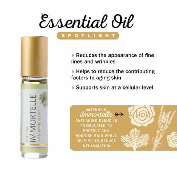 doTERRA Immortelle Anti-Aging Blend Spotlight