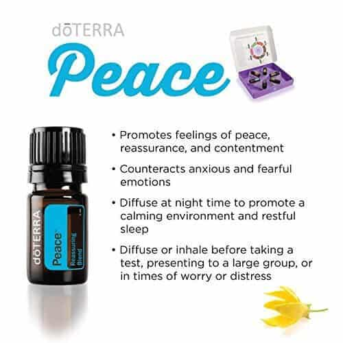 doTERRA Peace Reassuring Blend Uses