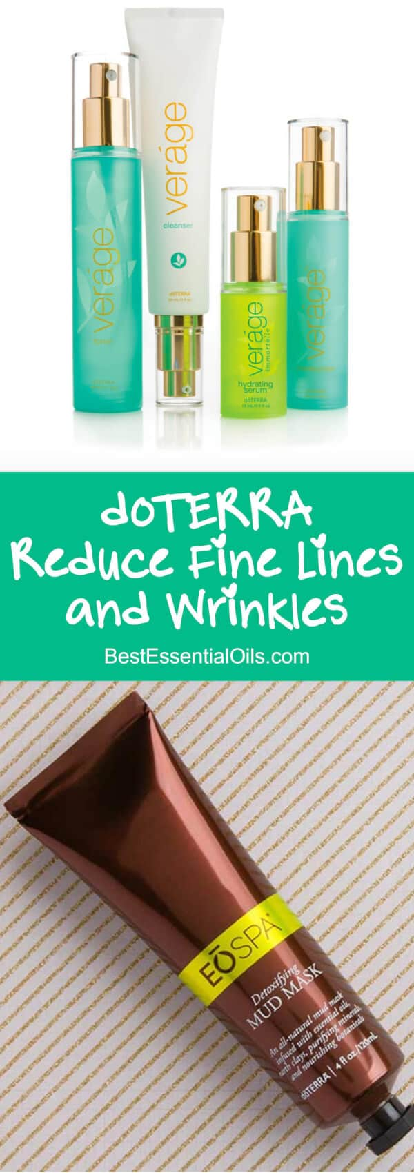 doTERRA Products to Reduce the Appearance of Fine Lines and Wrinkles