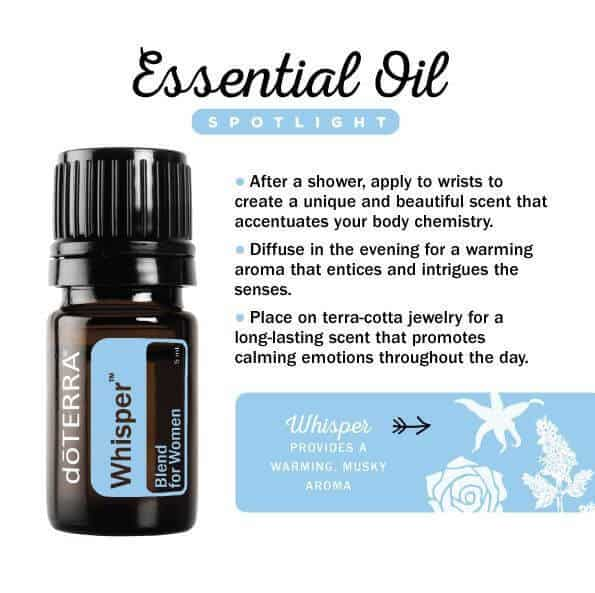 doTERRA Whisper Blend for Women Spotlight