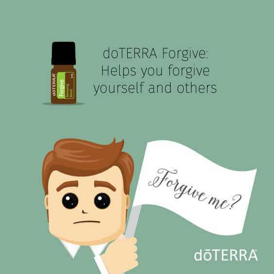 doTERRA Forgive helps you forgive yourself and others