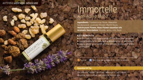 doterra immortelle essential oil uses