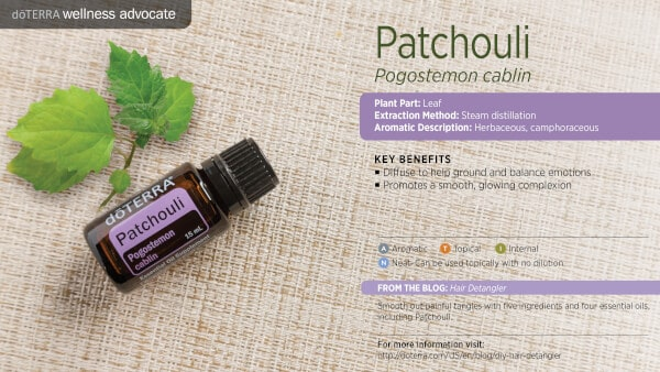doTERRA Patchouli Benefits