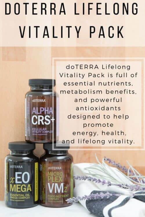 doTERRA Lifelong Vitality Pack with doTERRA Vitamins benefits