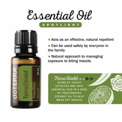 doTERRA TerraShield Outdoor Blend Spotlight