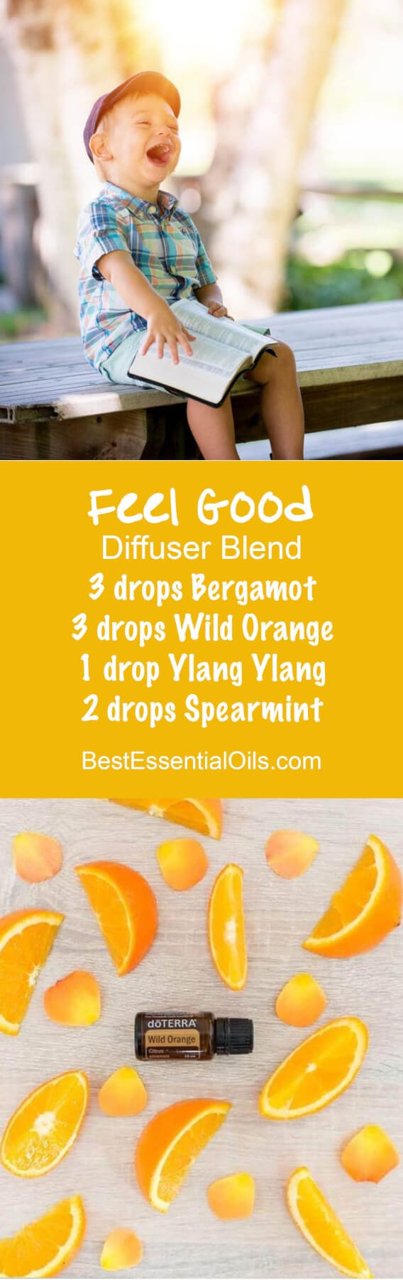 Feel Good doTERRA Diffuser Blend