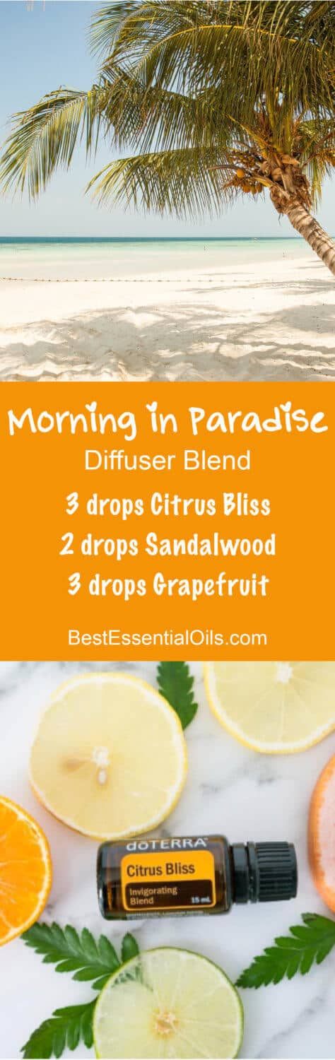 Morning in Paradise doTERRA Diffuser Blend