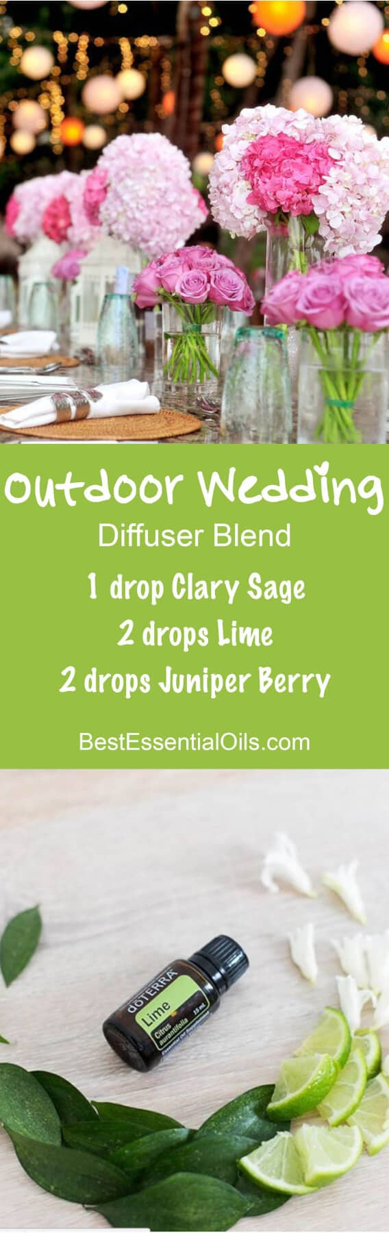 Outdoor Wedding doTERRA Diffuser Blend