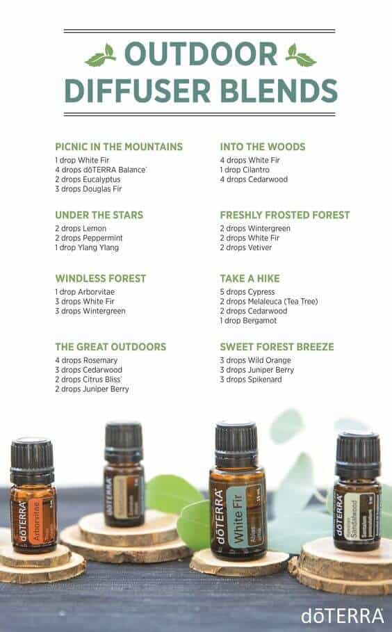 Outdoor Doterra Diffuser Blends