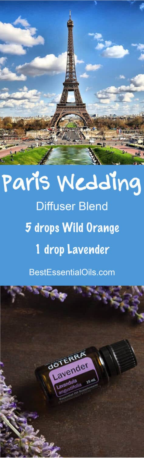 Paris Wedding doTERRA Diffuser Blend