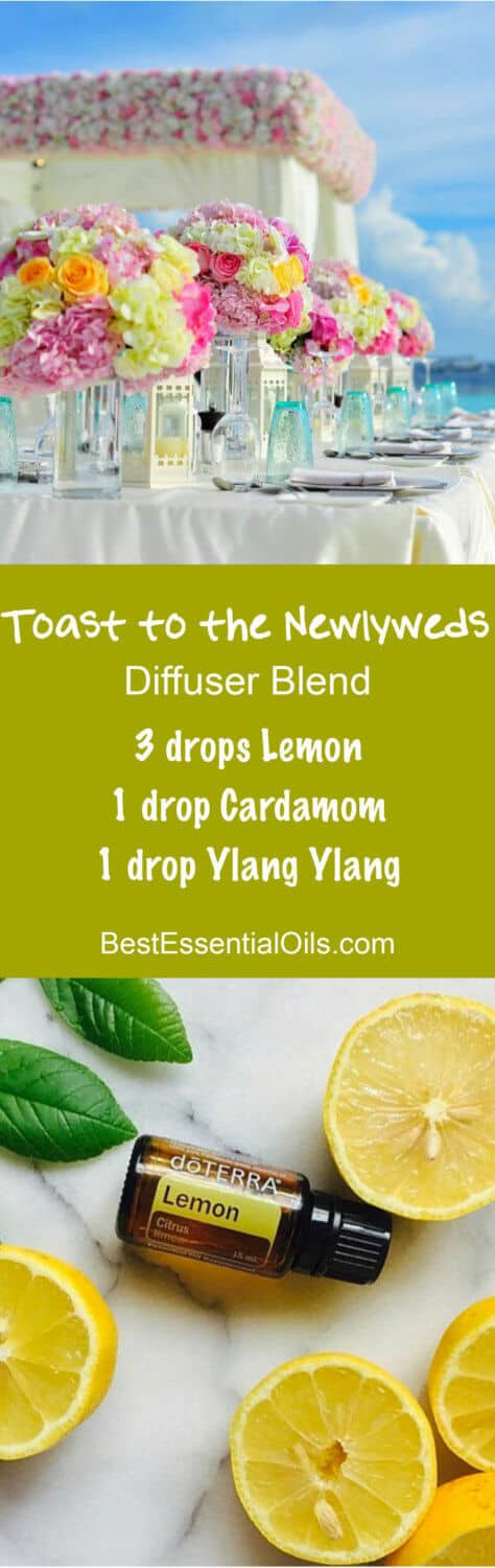Toast to the Newlyweds doTERRA Diffuser Blends