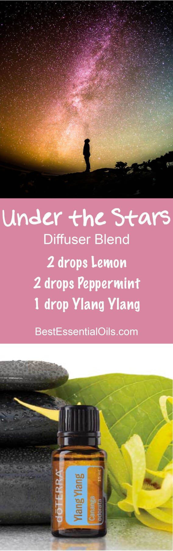Under the Stars doTERRA Diffuser Blend