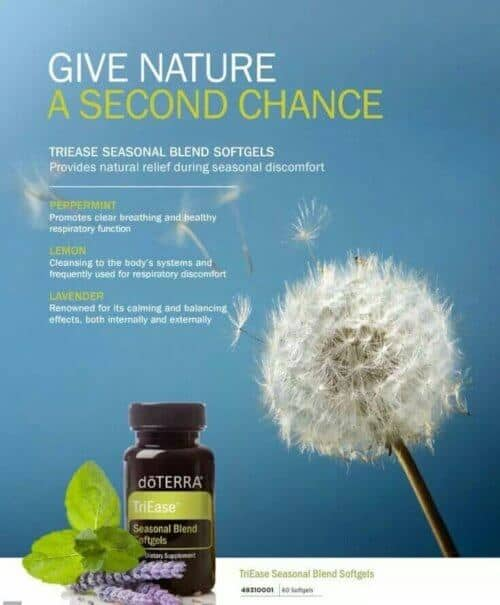 doTERRA TriEase Seasonal Blend Softgels Uses