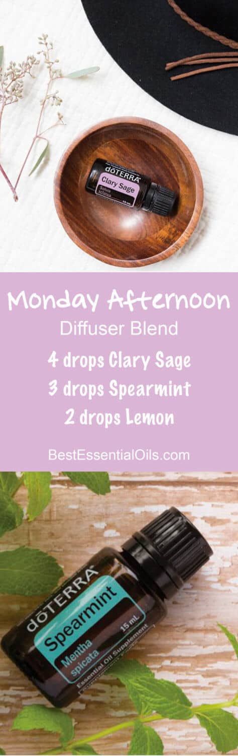 Monday Afternoon doTERRA Diffuser Blend