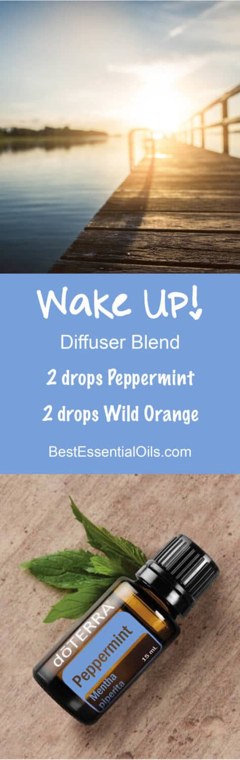 Wake Up! doTERRA Diffuser Blend