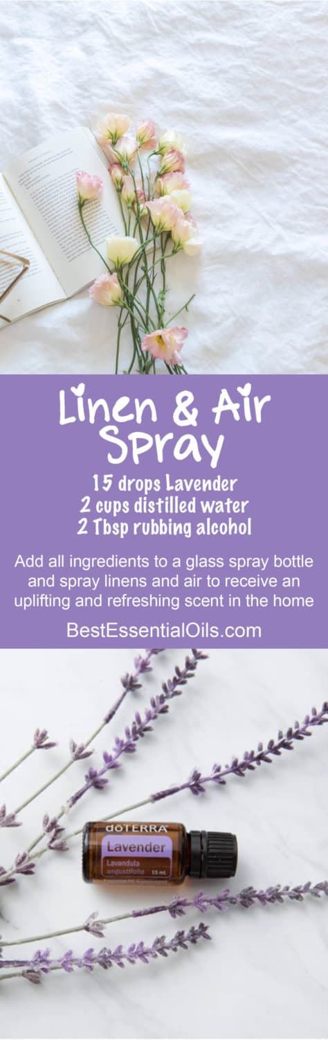 doTERRA DIY Linen and Air Spray