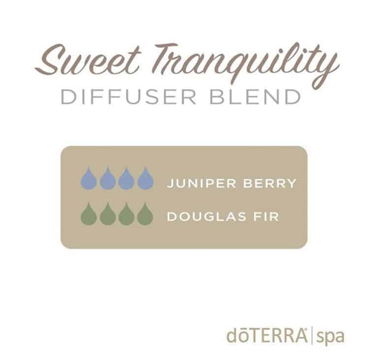 doTERRA sweet tranquility diffuser blend