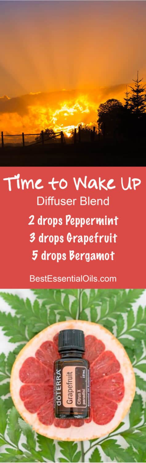 Time to Wake Up doTERRA Diffuser Blend