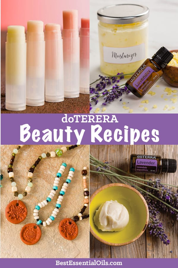 doTERRA Beauty Recipes
