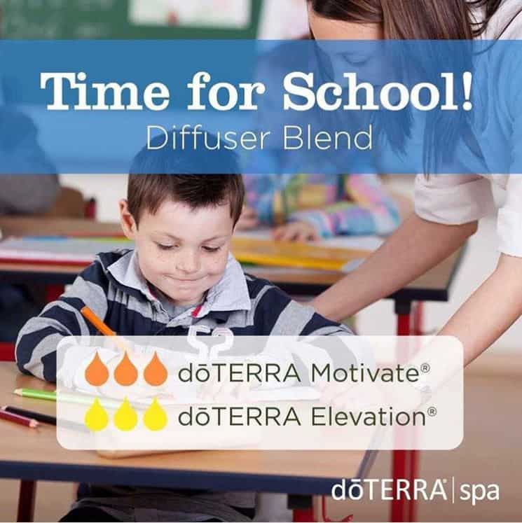 doTERRA Time for School Diffuser Blend