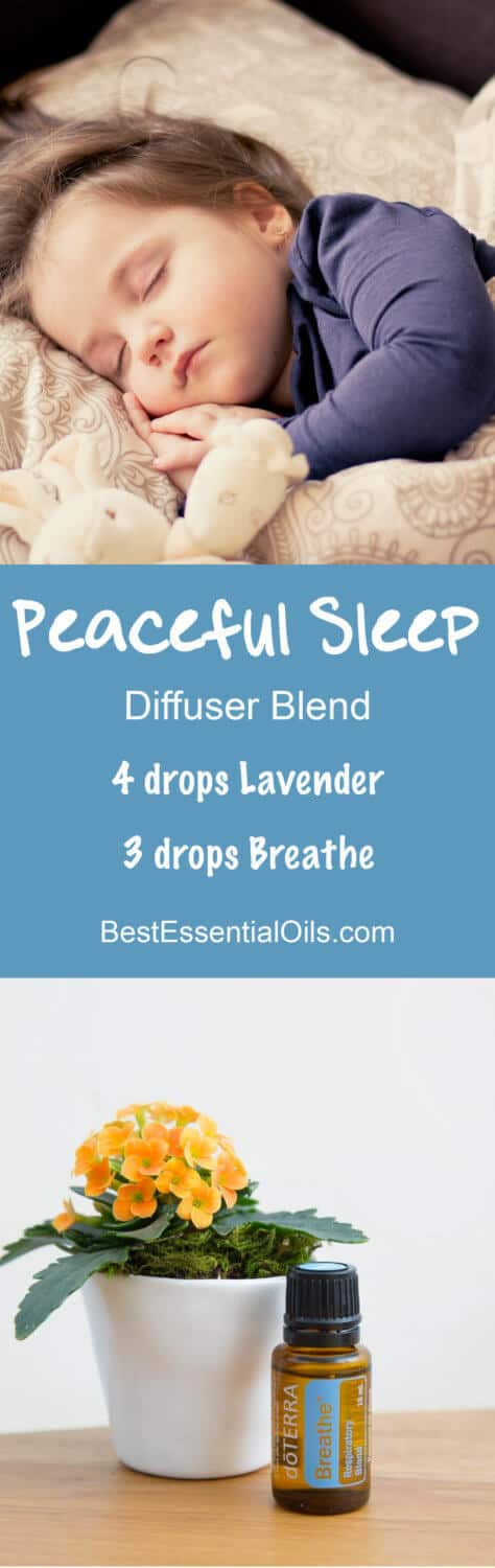 Peaceful Sleep doTERRA Diffuser Blend