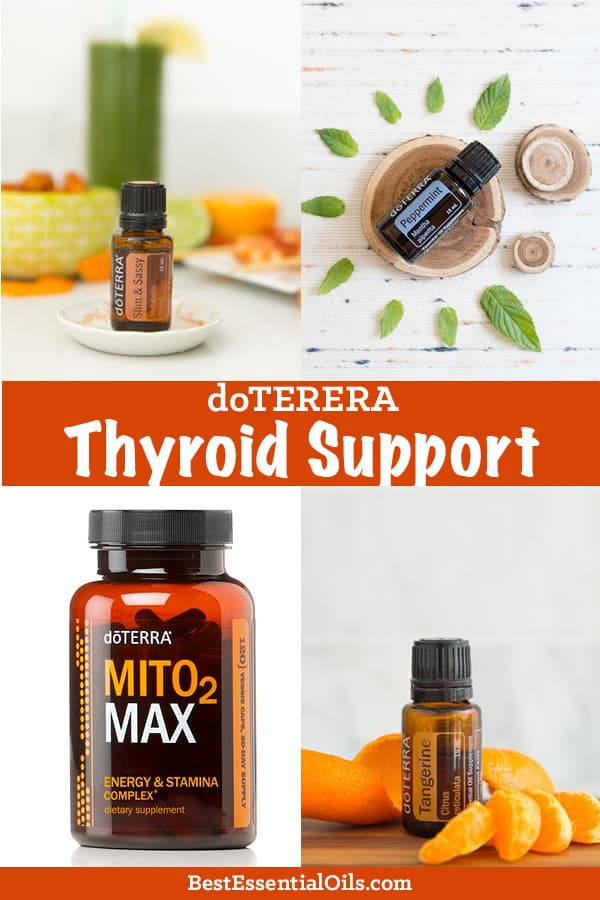 doTERRA Oils for Thyroid Support, Energy and Fighting Fatigue