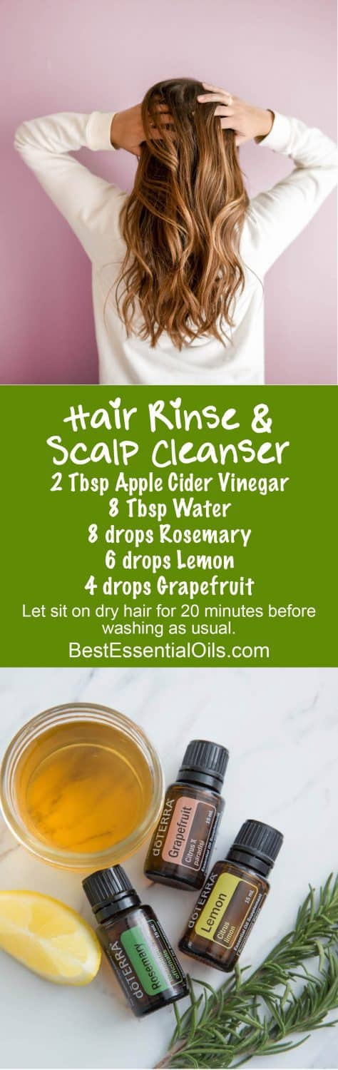 doTERRA Hair Rinse and Scalp Cleanser