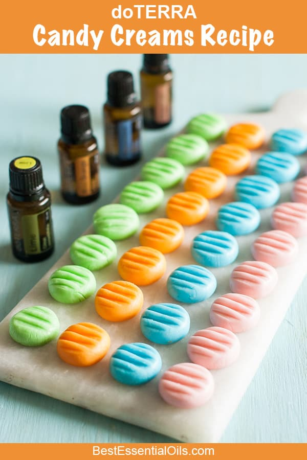 Essential Oil Candy Creams Recipe