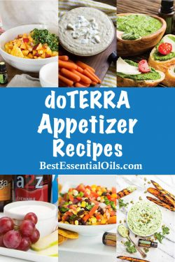 doTERRA Appetizer Recipes