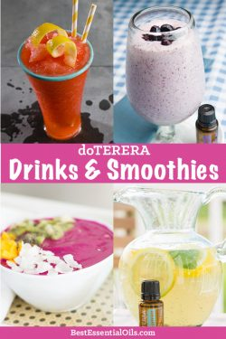 doTERRA Drink and Smoothie Recipes