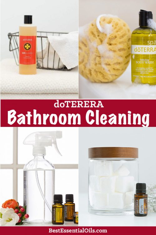 doTERRA Essential Oil Bathroom Cleaner Recipes