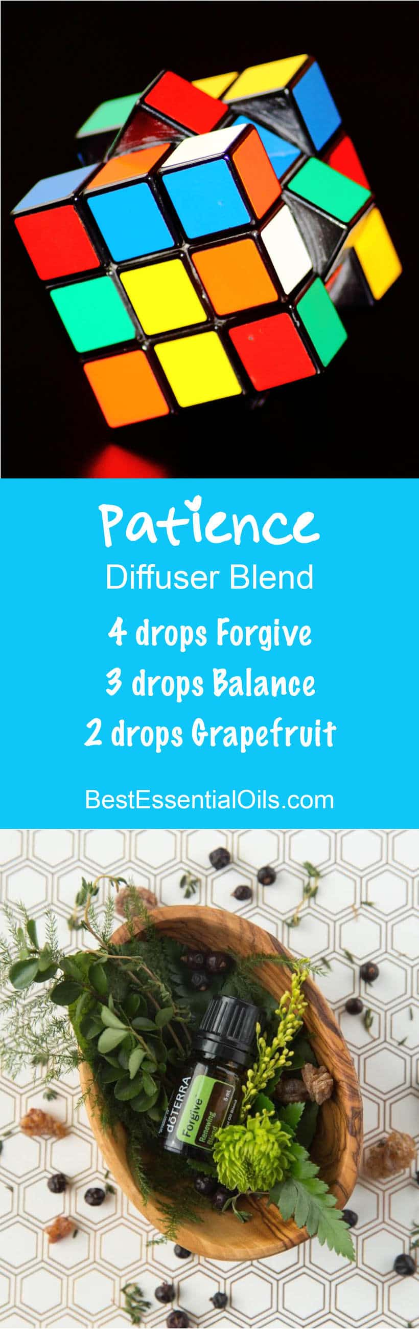Patience doTERRA Diffuser Blend