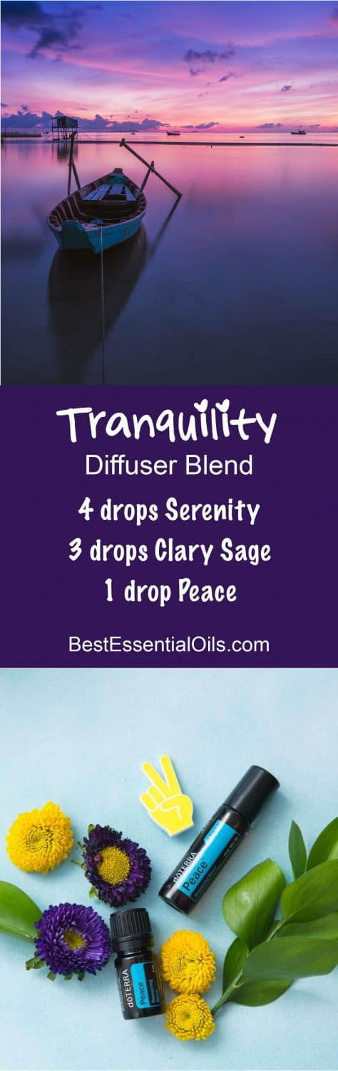 Tranquility doTERRA Diffuser Blend