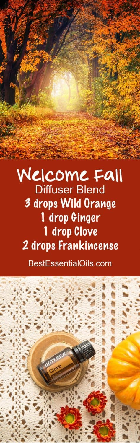 Welcome Fall doTERRA Diffuser Blend