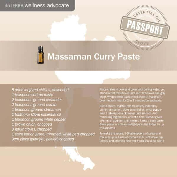doTERRA Massaman Curry Paste
