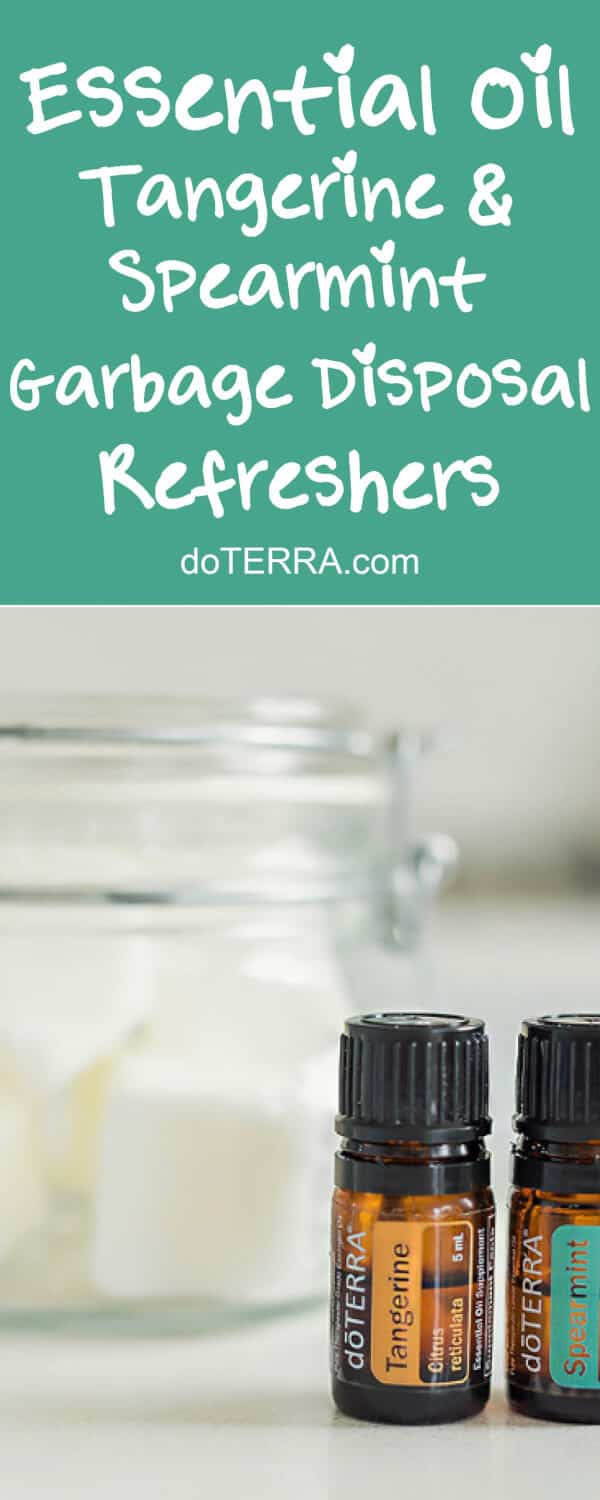 doTERRA Tangerine and Spearmint Garbage Disposal Refreshers