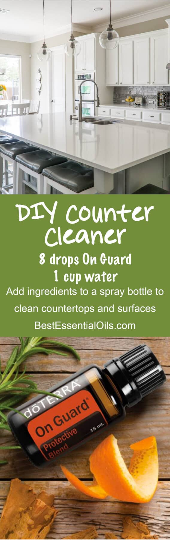 doTERRA DIY Countertop Cleaner