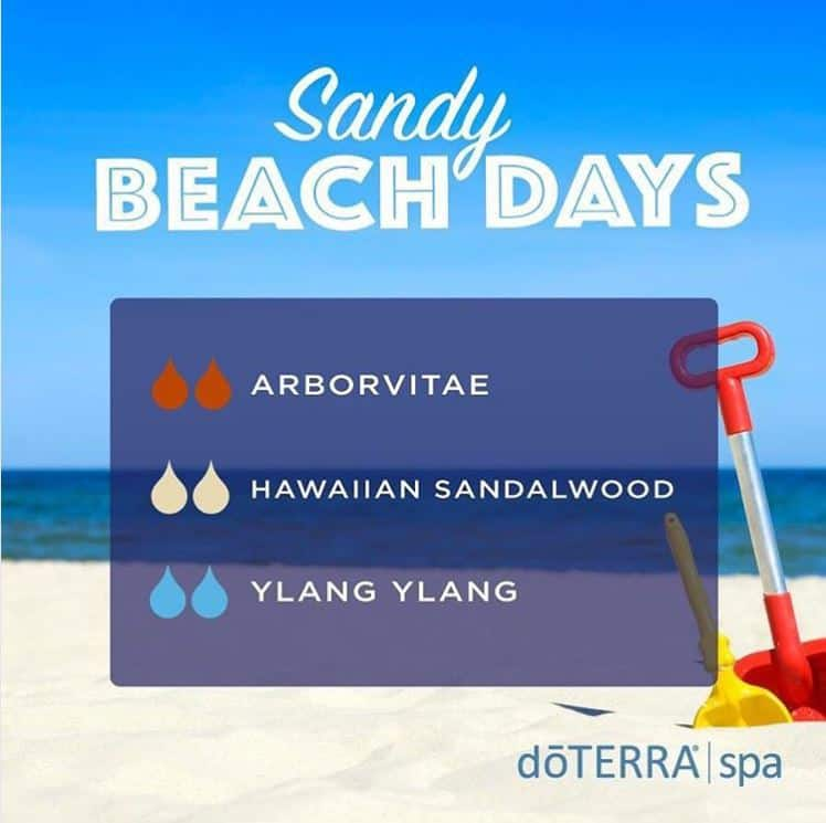 doTERRA Sandy Beach Days Diffuser Blend